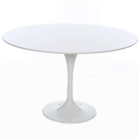 modern white table l 120cm modern white tulip circular designer table 499 99