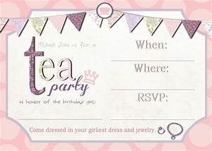 free high tea party invitation templates high tea With morning tea invitation template free