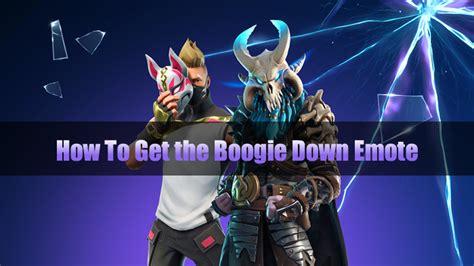 unlock  boogie  emote  fortnite played