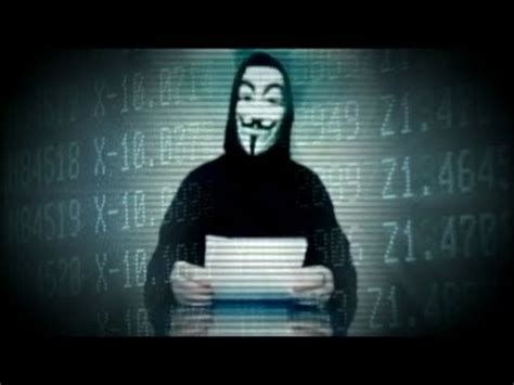 hacker group anonymous hits federal reserve youtube