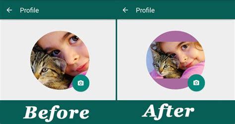 Cara Mengatur Foto Profil Whatsapp Tanpa Cropping