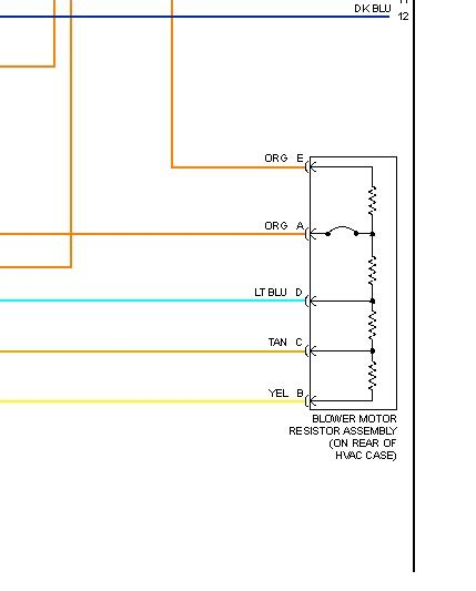 Hummer Blower Motor Resistor Need Wiring Diagram
