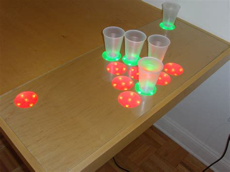 how to make a beer pong table electronic beer pong table probably a big hit at the
