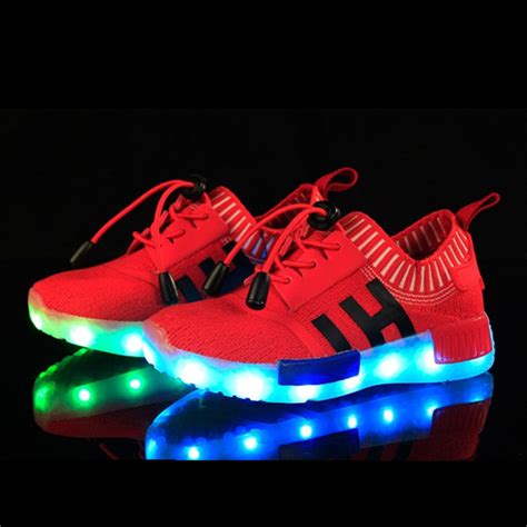 light up shoes for toddlers usb charging led light up shoes black royal