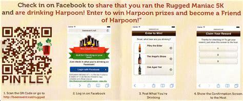 rugged maniac code harpoon rugged maniac and qr code promotion qfuse