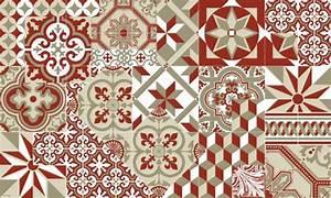 Tapis Carreaux De Ciment Vinyl : tapis vinyle carreaux de ciment ~ Teatrodelosmanantiales.com Idées de Décoration