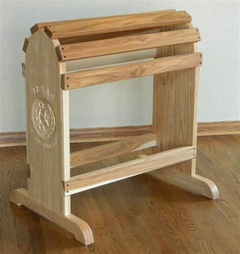 the saddle rack crafted furniture quality saddle rack by