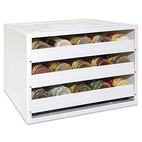 Indian Spice Organizer by Youcopia 174 Chef S Edition Spicestack 174 30 Bottle Stackable