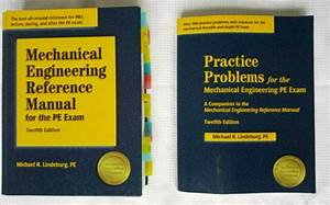 Mechanical Engineering Reference Manual For The Pe Exam By