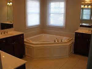 corner tub bathroom ideas corner tub