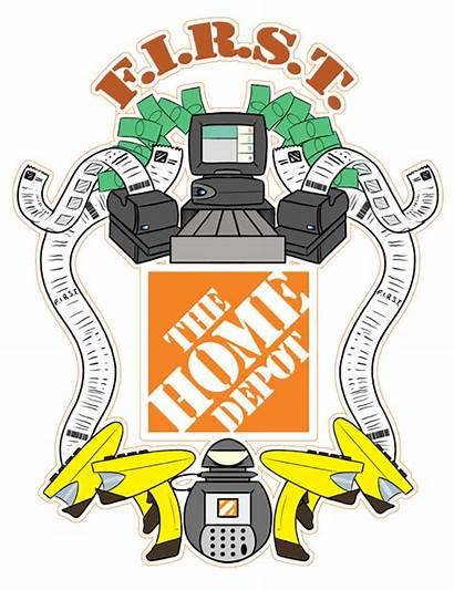 Depot Clip Clipart Homer Bing Apron Logos