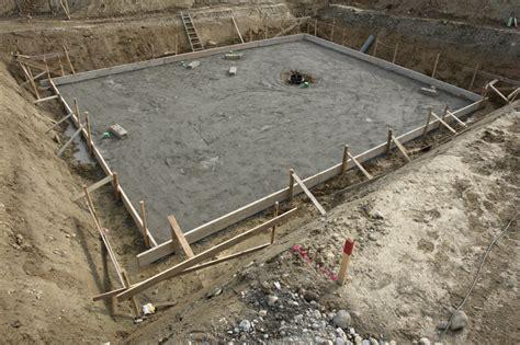 beton fertigmischung fundament fundament bauen 187 anleitung in 4 schritten