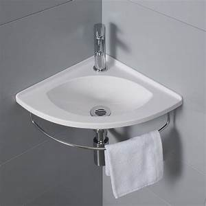 Lave Main Angle : lave mains d 39 angle salto porte serviette ~ Melissatoandfro.com Idées de Décoration