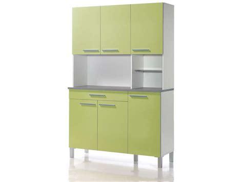 conforama buffet de cuisine buffet de cuisine 120 cm debora coloris blanc vert acide