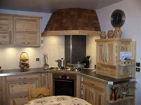 cuisine bois et inox henrioux jacky menuiserie cuisines et salle de bains