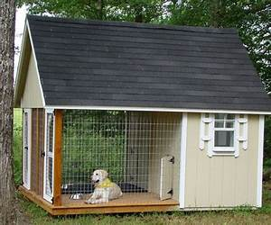 pinterest With metal dog house