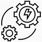 Icon Consumption Power Production Electricity Energy Recycle