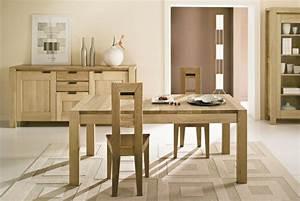 Table rabattable cuisine paris meubles salle a manger for Salle À manger contemporaine avec salle a manger bois massif pas cher
