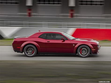 2018 Dodge Challenger Srt Hellcat Widebody Side Hd