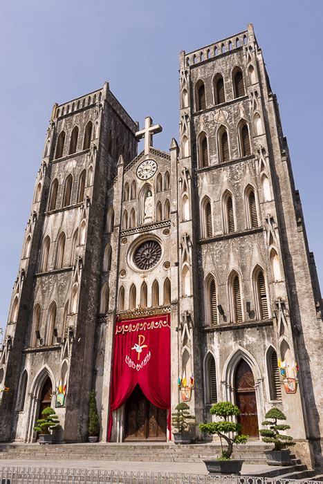 st josephs cathedral hanoi   days