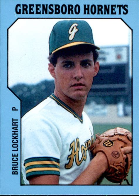 There are sports card pricing guides published monthly which lists the values of sports cards. 1985 Greensboro Hornets TCMA #6 Bruce Lockhart Brunswick Maine ME Baseball Card | eBay