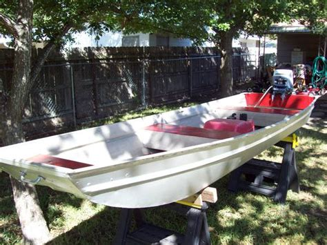 12 Foot Jon Boat Outboard by Sears Gamefisher 12 Foot Aluminum Boat For Sale