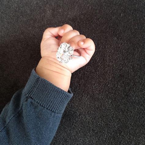 cele bitchy kim kardashian posts photo of her diamond