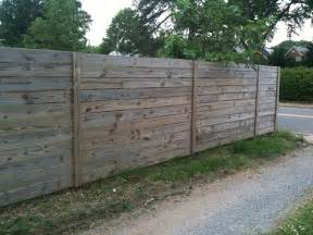 Horizontal Privacy Fence Designs