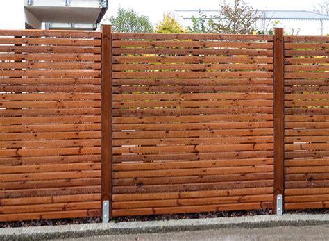 Braun Würfele by Sichtschutz Windschutz Holz Im Garten Designs In Holz