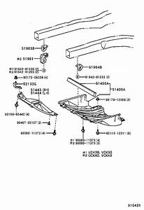 Toyota Tundra Radiator Support Splash Shield  Left  Rear   Cover  Engine Under