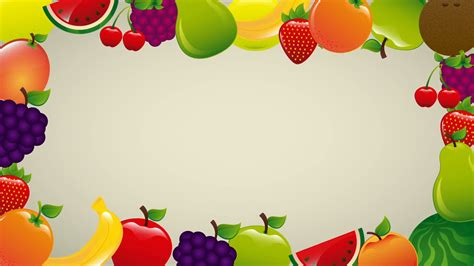 Animated Food Wallpaper - fruits background animation motion background