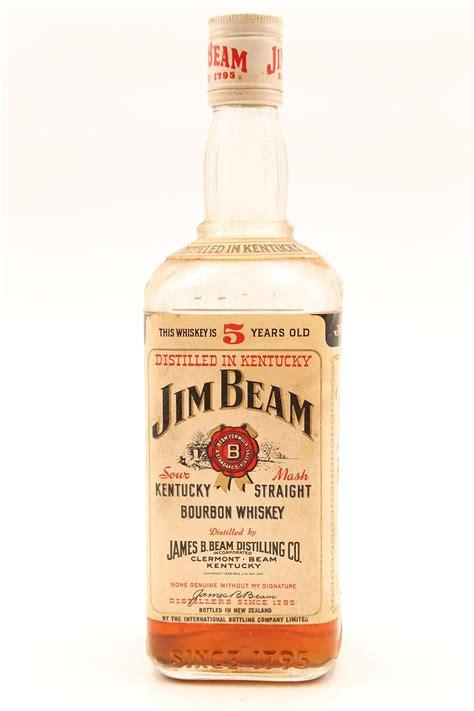 1 jim beam 5 year bourbon circa 1970s ls