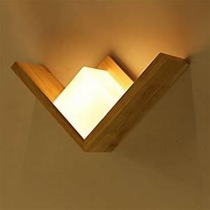 Retro Lampe Holz : wandlampen aus holz und andere wandbeleuchtung von wandleuchten lhl online kaufen bei m bel ~ Indierocktalk.com Haus und Dekorationen