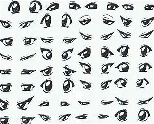 how to draw vampire boy anime eyes