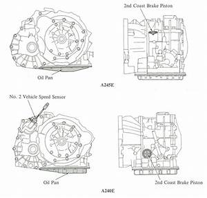 2005 Toyota Corolla Transmission Diagram