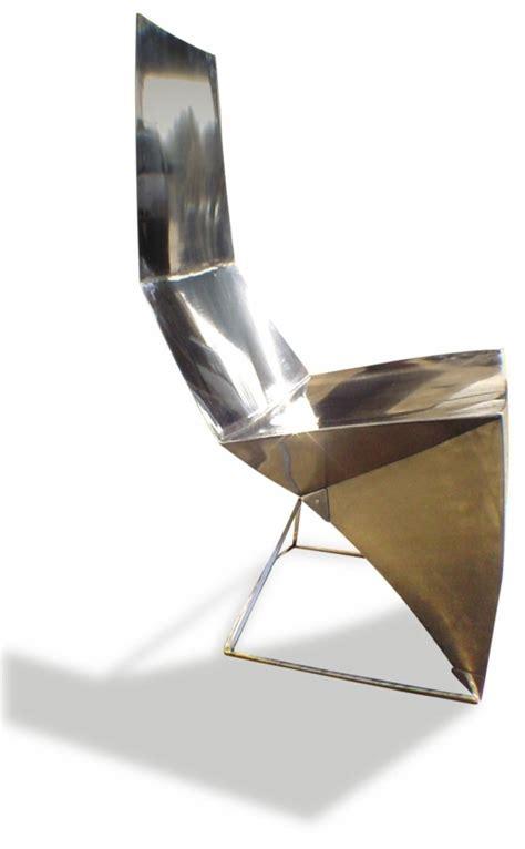 chaise métallique 20 idées de chaise de design esthétique et fonctionnel
