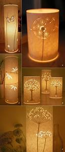 Decorations Craft Ideas For Lamp Shades: Unique Diy