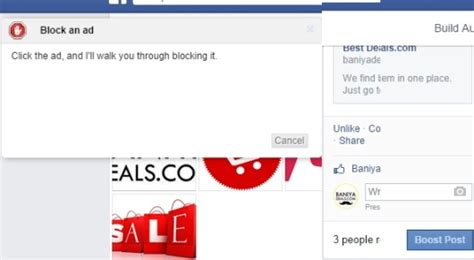 How To Remove Boost Post Button In Facebook?