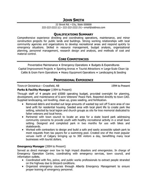 Facilities Resume Templates by Search Results For Facilities Manager Resume Calendar 2015
