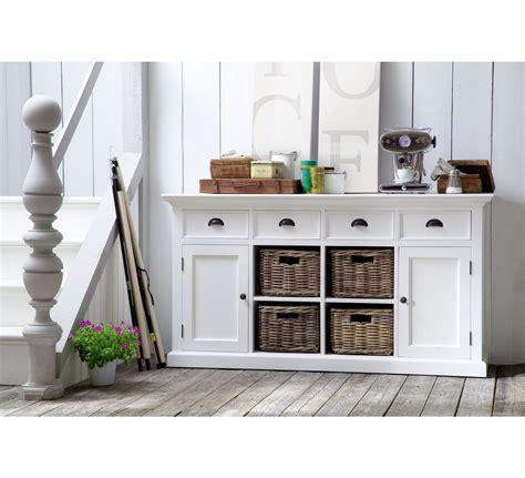 table haute de cuisine avec tabouret meuble de rangement avec paniers en rotin quot cygne quot 6430