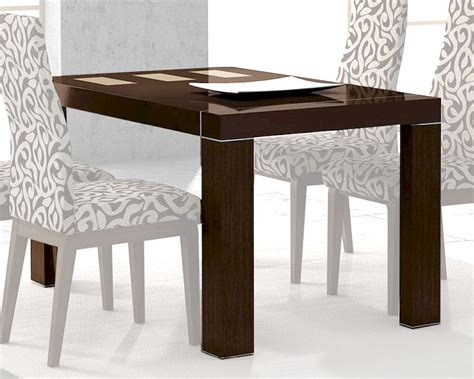 european style kitchen tables dining table inez in cappuccino european design made in