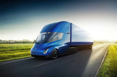 Tesla Electric Semi-truck Revealed