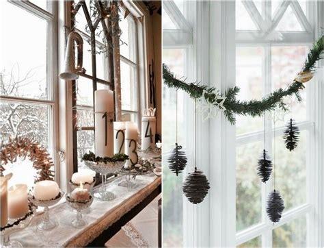 schoen deko ideen grosse fenster gemuetliche weihnachten