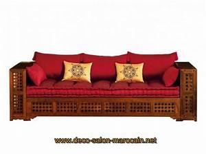 Banquette Marocaine Moderne : banquettes salon marocain d co salon marocain ~ Dode.kayakingforconservation.com Idées de Décoration
