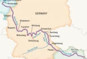 Elbe River Europe Map