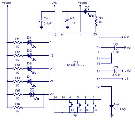 Max Digital Volume Control Audio Wiring Diagram