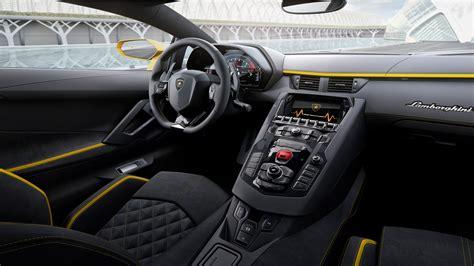 2017 Lamborghini Aventador S Interior Wallpaper Hd Car