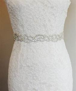 natasha crystal beaded bridal belt sash rhinestone With wedding dress sashes with crystals