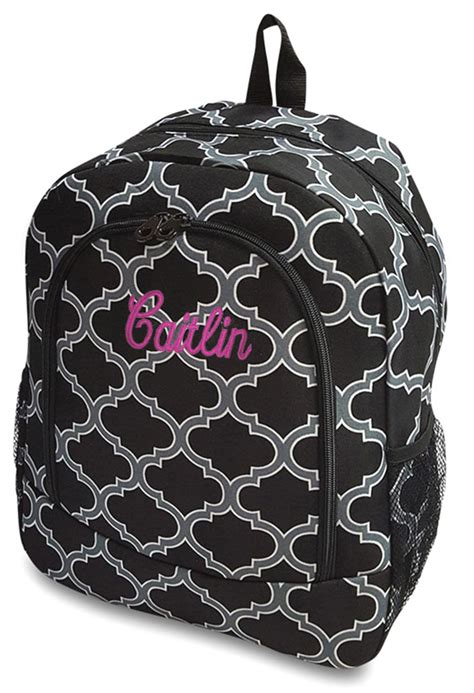 girls personalized backpack embroidered monogrammed