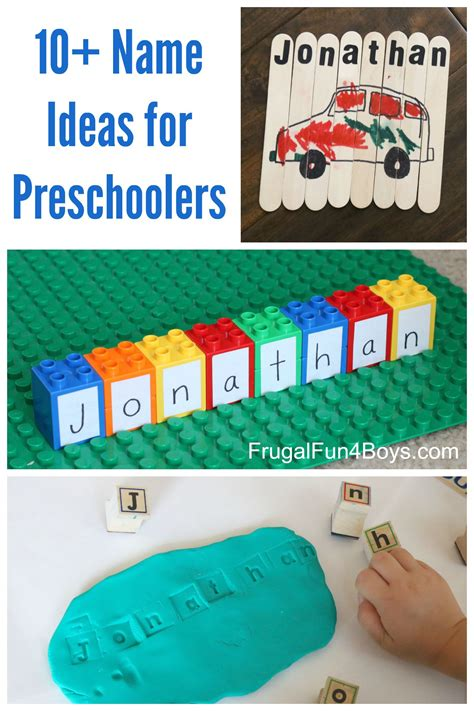 easy preschool games simple name activities for preschoolers 856